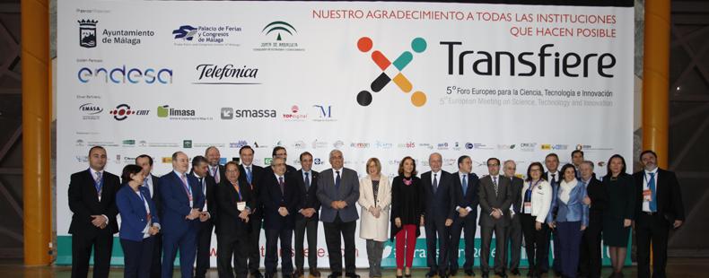 El sector del I+D+i al completo ha confirmado a Foro Transfiere como el principal evento de la innovación en España.