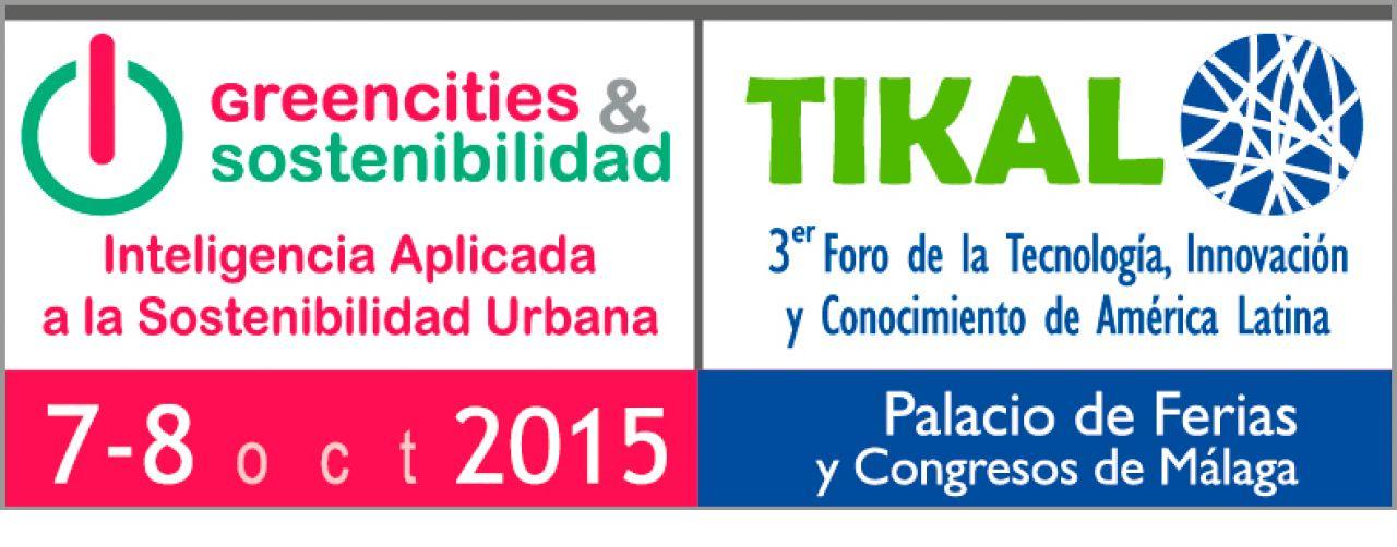 Greencities & Sostenibilidad 2015- Foro TIKAL