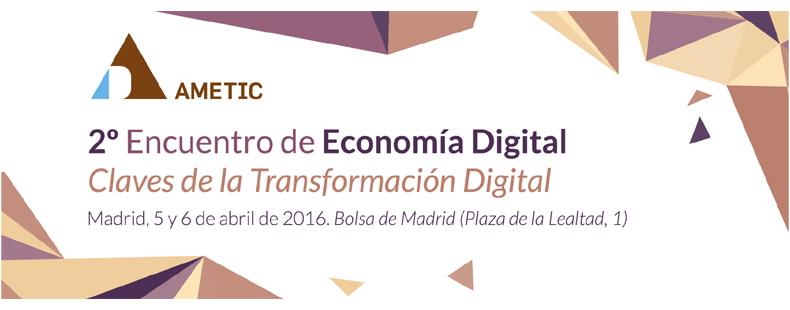 2º Encuentro de Economia Digital