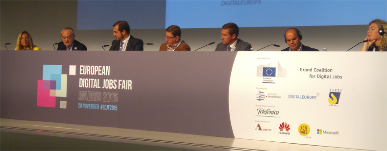 Conferencia Alto Nivel DIGITAL SKILLS FOR THE DIGITAL TRANSFORMATION OF EUROPE