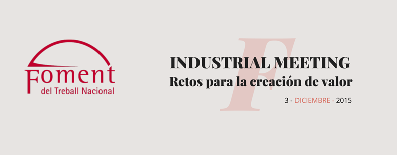 Industrial Meeting_Retos para la creación de valor
