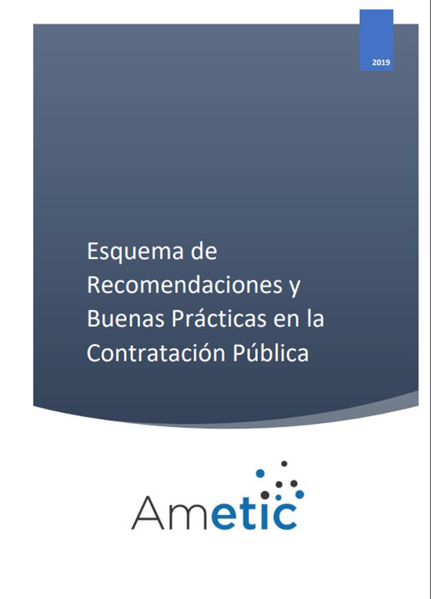 Esquema de Recomendaciones y Buenas Prácticas en la Contratación Pública