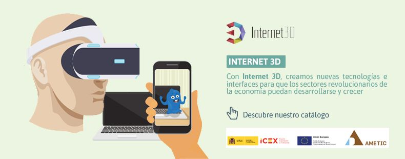 Descubre nuestro catálogo de Internet 3D