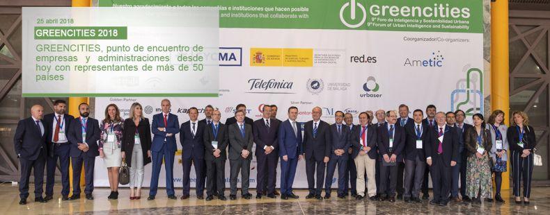 GREENCITIES, punto de encuentro de empresas y administraciones desde hoy con representantes de más de 50 países