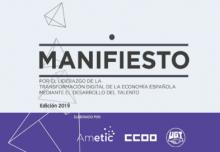 Manifiesto liderazgo transformación digital desarrollo del talento