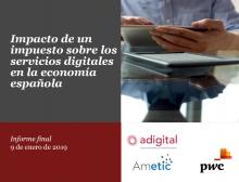Impacto de un impuesto sobre los servicios digitales en la economía española