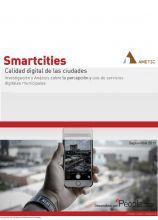 Smartcities, calidad Digital de las Ciudades Españolas