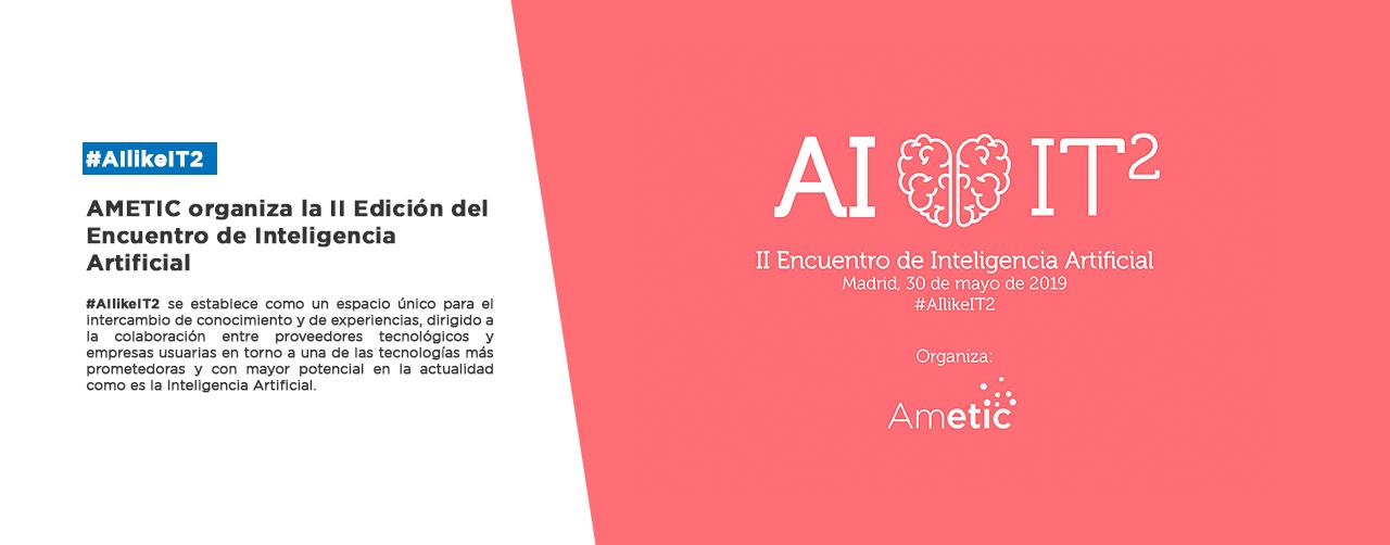 II Encuentro de Inteligencia Artificial #AIlikeIT2